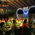Reception at Restuarant 1606 at Village de Santo