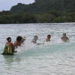 Water Ladies incredible performance at our wedding organised by Bev