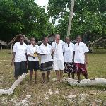 Some of the very heplful team from Village de Santo who relocated for us for our Wedding Ceremon