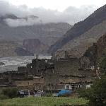 little township on the edge of upper Mustang Territory