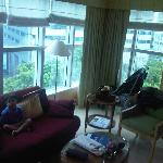 junior suite front room
