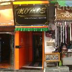 The Entrance to Momos