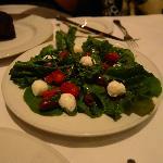 baby romaine salad w/ balsamic vinegrette
