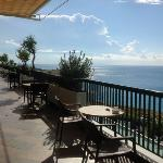 Bar/veranda area