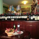 Rotwein-Auswahl