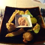 fritiertes frisches Gemüse... ein Traum!
