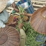 Nampan village market