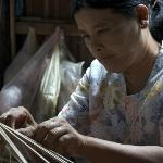local handicrafts in traditional style