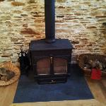 Log burners in the three main barns (not the Linhay)