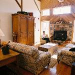 Enjoy the great sitting room in the barn!