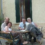 Lisa, Kevin, Athos et nous