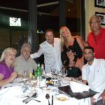 Ricardo Montaner muy amabe y simpático con nosotros en la foto.