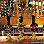 A selection of real ales