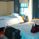 One of the sleeping/guest rooms at the Great Stone Dwelling