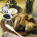 Irish Soda Bread and Bailey's Irish Cream Scones in March for St. Patrick's Day,  Centennial Hou