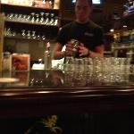 bar tender who ignores you