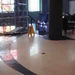 Construction in Lobby