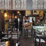 Voorkant restaurant