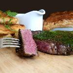 Steak at Hinchliffes