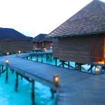 Sunset water villas