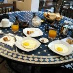 Breakfast, Riad Zahraa