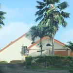 entrée de Bay View Villa
