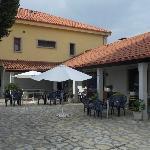 terras van het hotel