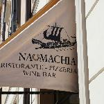 around the corner, our favorite pizza restaurant