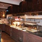 Pegasus Restaurant open plan Kitchen