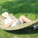 Hammock Relax at Shing Wako Resort Brainerd MN