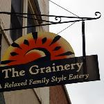 Grainery sign