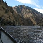 Driftboat fishing trip on Salmon River near Riggins, ID