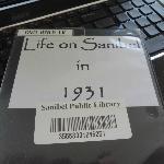 Sanibel history dvd