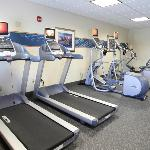 Newly renovated fitness center's cardio machines