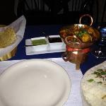 vegetarian curry...