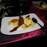 Desert at our anniversary dinner