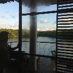 OVERWATER LAGOON SUITE view