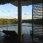 View from OVERWATER LAGOON SUITe