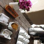 Free coca tea in the main lobby