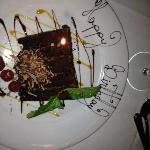 Free Chocolate Happy Birthday Cake!