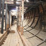 Below decks on the Edwin Fox