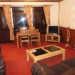 Open plan lounge dining