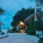 Walk to the beach from Amar Inn