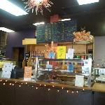 Coffee Bar and sweets display