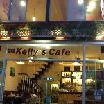 Kelly's Cafe by night