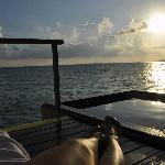 Sunset Water Villa