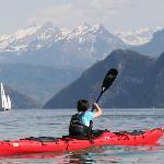 Seekajak-Touren in eindrücklicher Landschaft