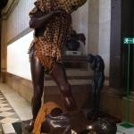Leopard man @ museum