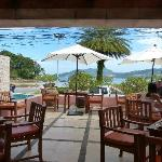 Breakfast on the terrace with Andaman Sea view