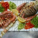 un ottima grigliata di pesce